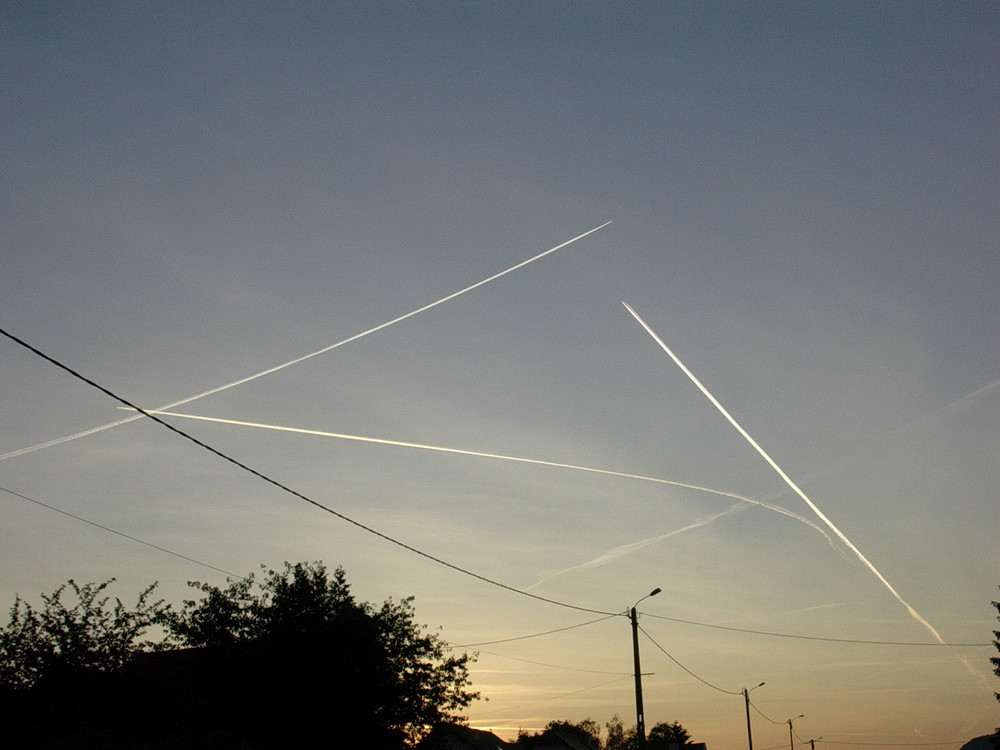 rencontre d avions