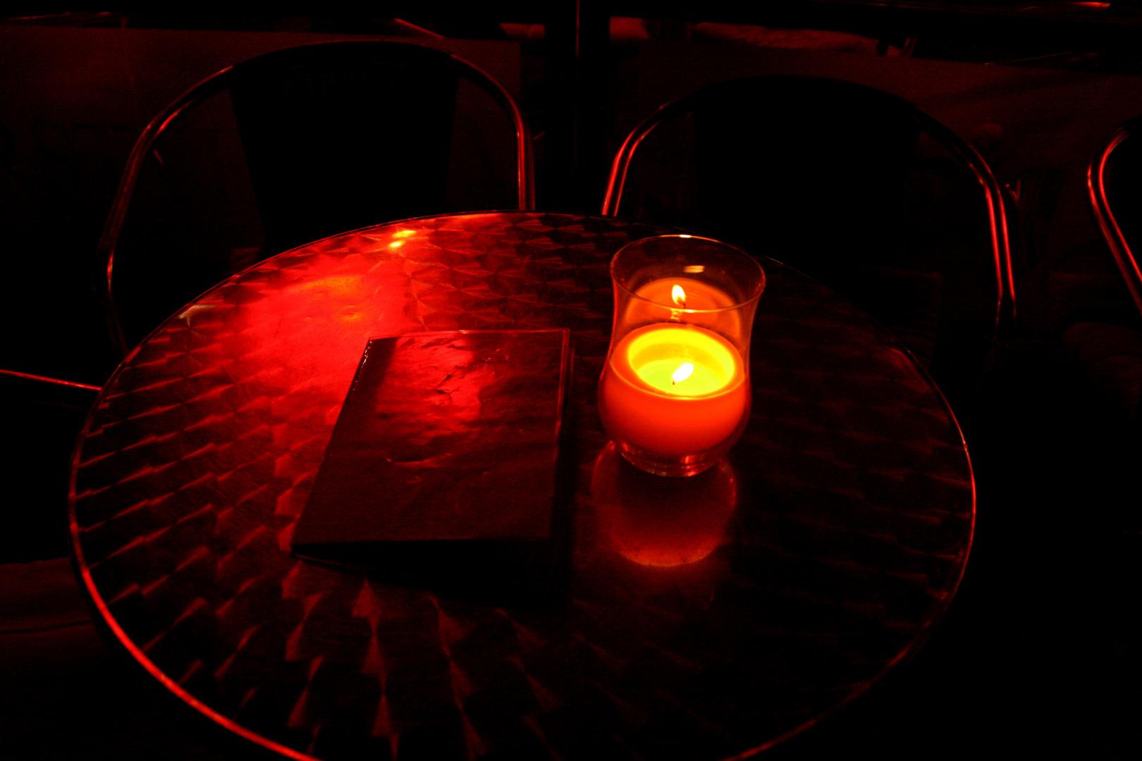 Rendevouz bei Kerzenschein
