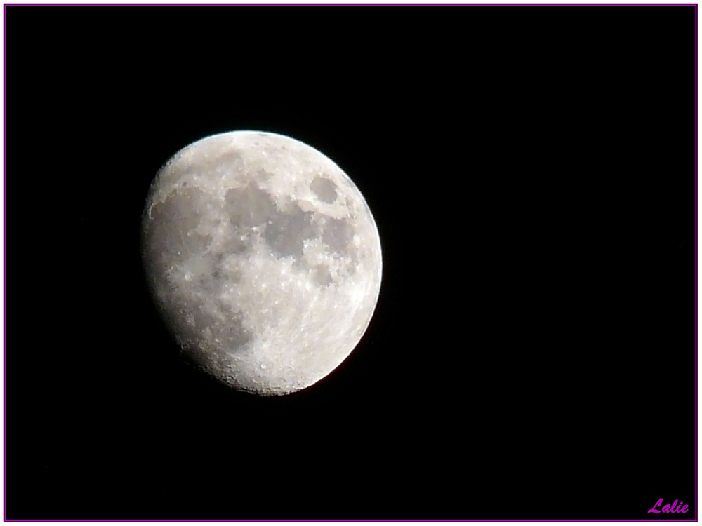 Rendez-vous sur la Lune...