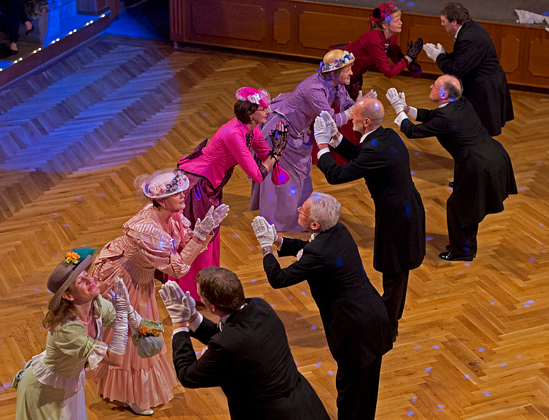 Rendezvous 1910 - Show der Tanzschule Trautz aus Augsburg 1