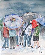 Rendezvous im Regen