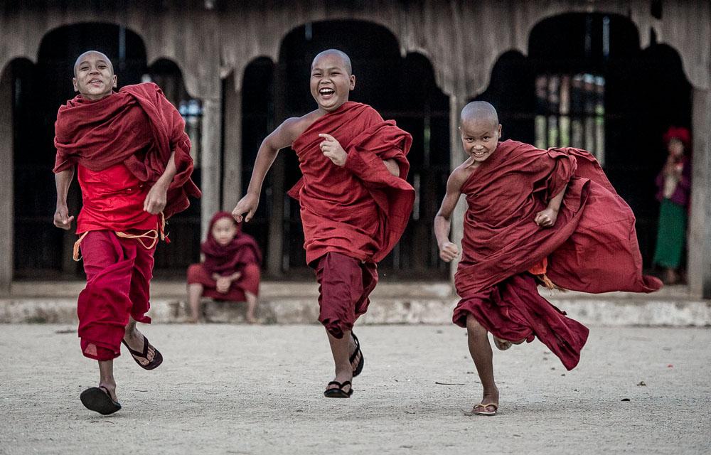 rennende monch