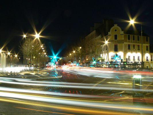 Rennes la nuit