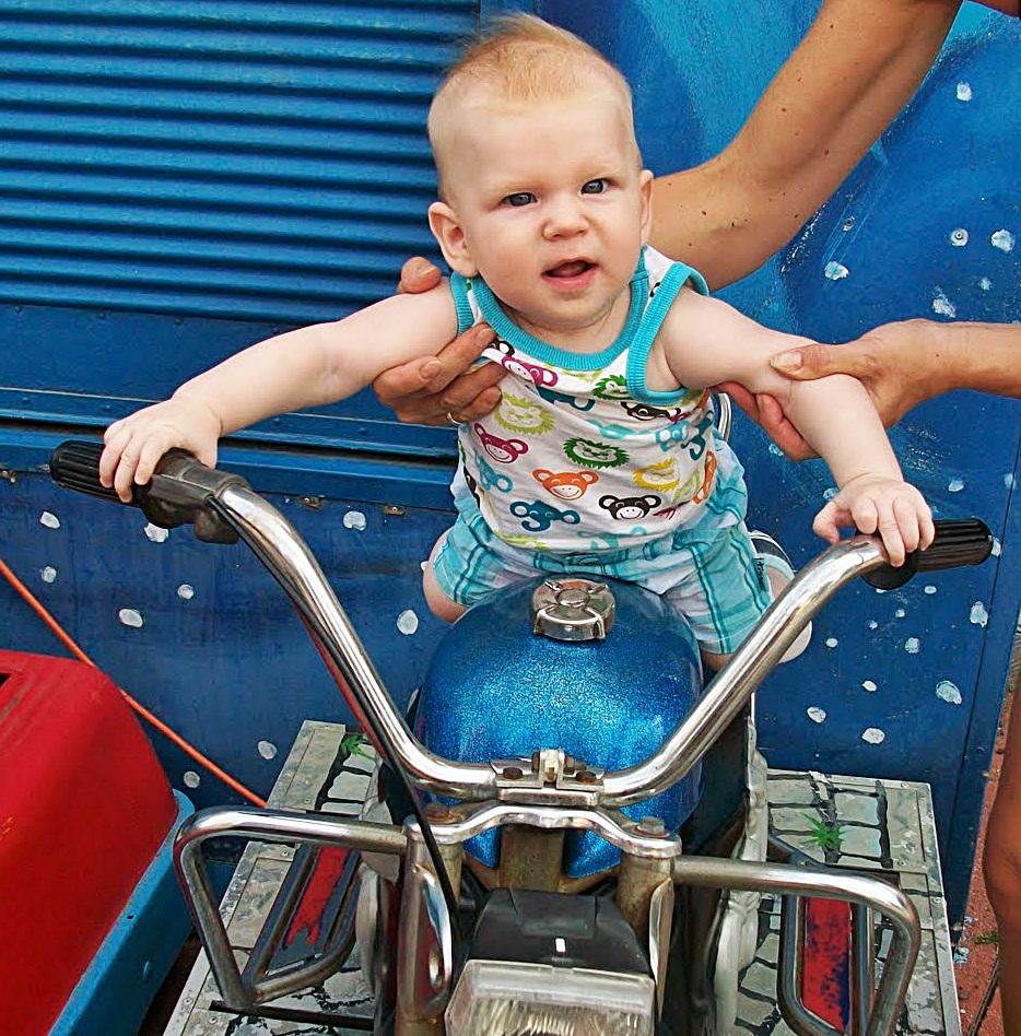 Rennfahrer Mika
