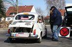 Rennzwerg beim Rallytraining