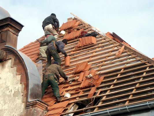 Renovation of the roof