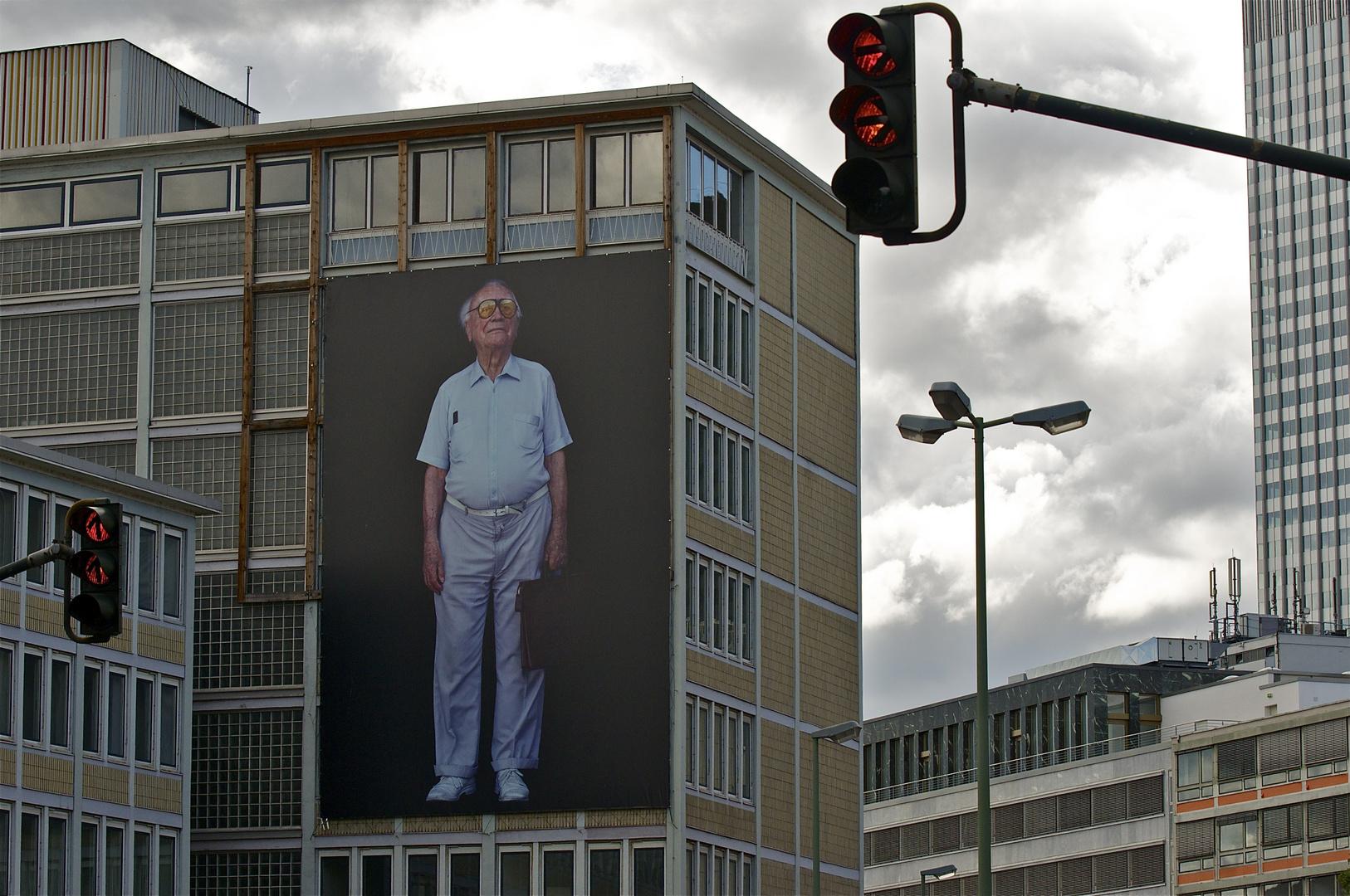 Rentner in Frankfurt