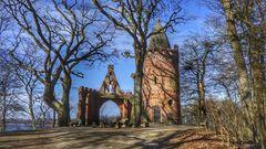 Reppiner Burg Ruine