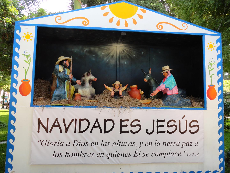 Representación de la Navidad en Piura