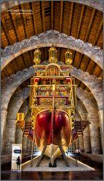 Reproducción de la Galera Real de Juan de Austria (Popa)