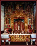 Reredos - Santuario di Chimayó, New Mexico;