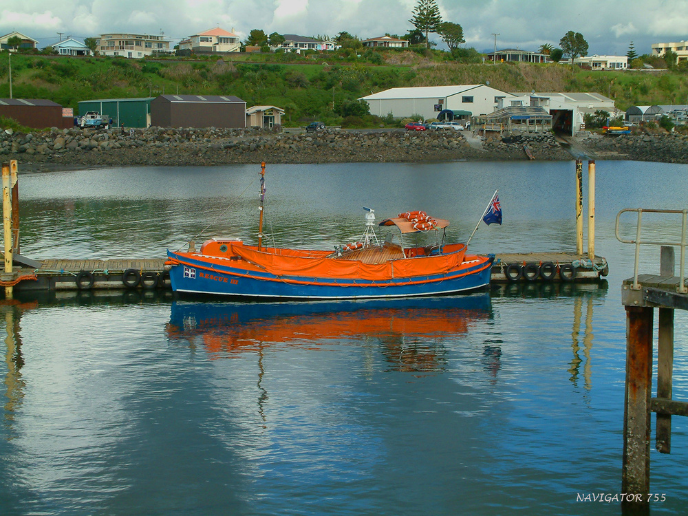 RESCUE III / New Plymouth Harbour / NZ