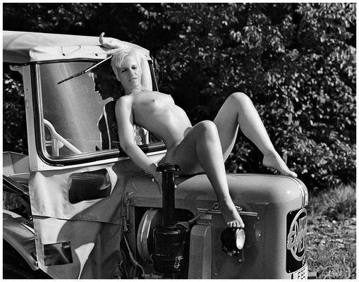 Resi ich hol Dich mit dem Traktor ab....:-))