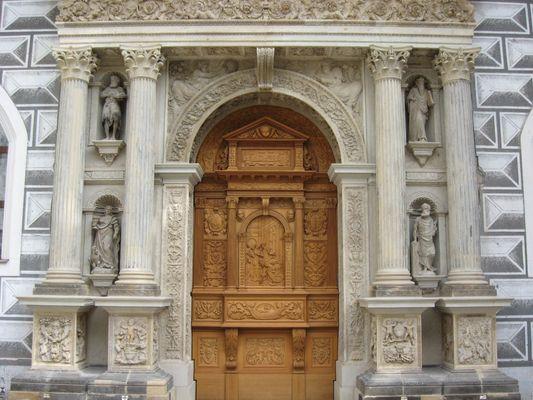 Residenzschloß Dresden Goldene Pforte der neuen Schützkapelle