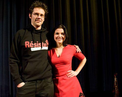 Résiste - Der Aufstand der Praktikanten. Jonas Grosch und Katharina Wackernagel