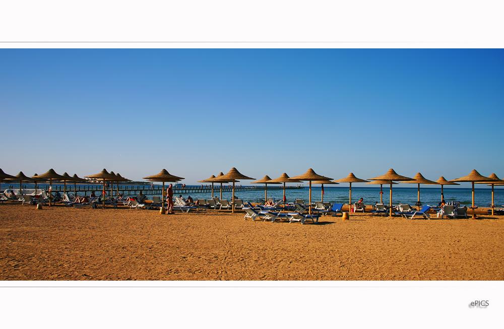 Resortabschnitt Strandbereich