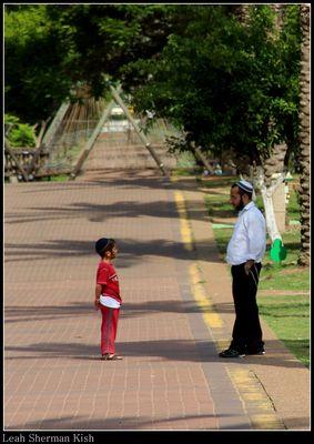 respectful conversation between dad & son