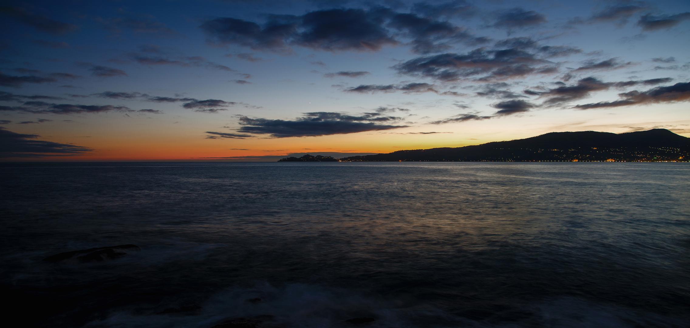 Rest vom Sonnenuntergang