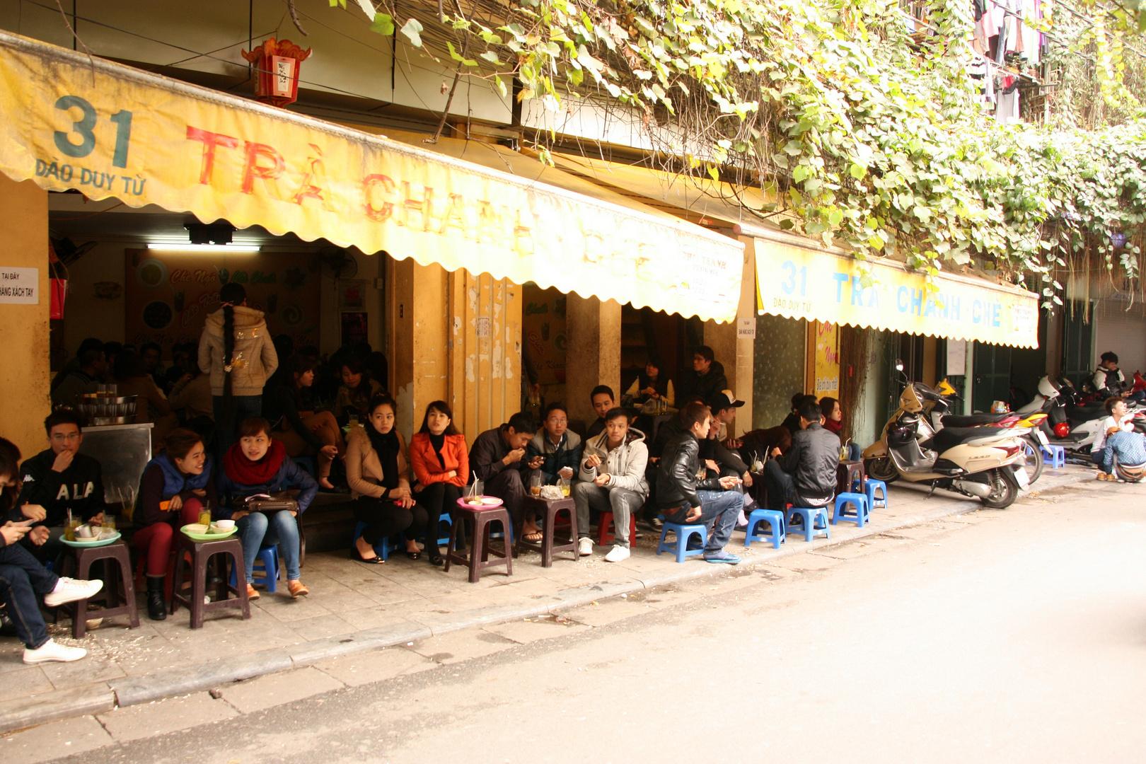Restaurant an der Straße