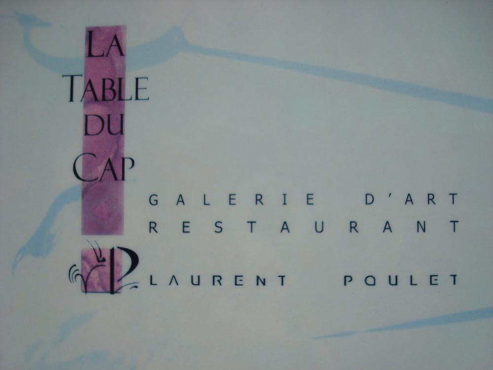 Restaurant et....Galerie d'ART La Table du Cap