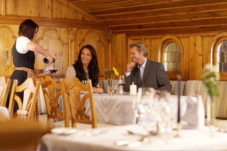 Restaurant im Luxushotel