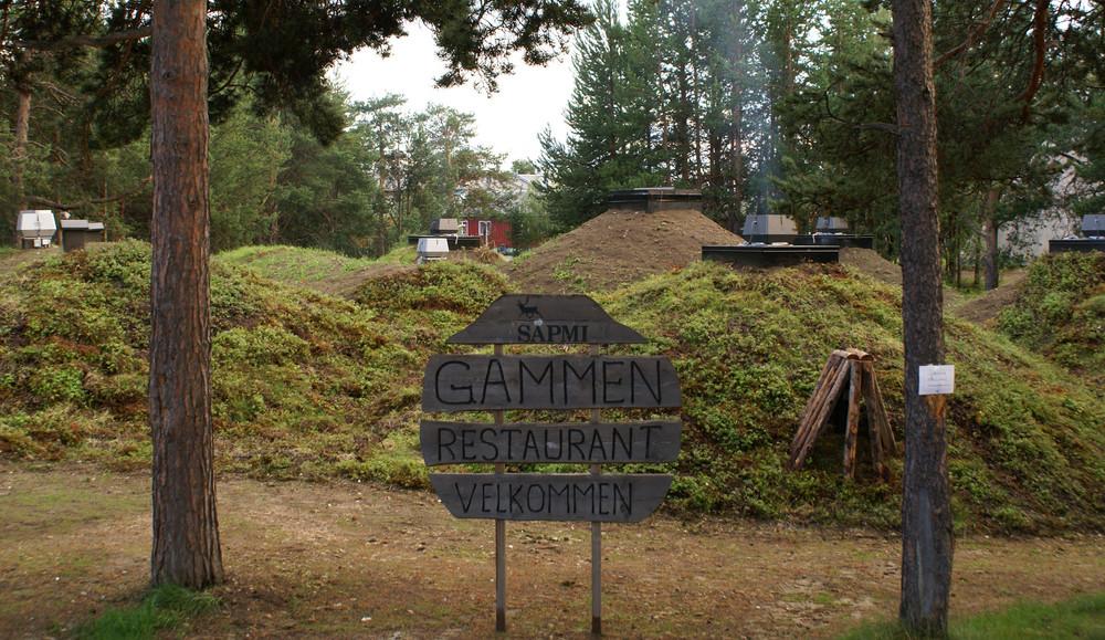 Restaurant Sapmi Gammen.