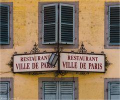 Restaurant Ville de Paris