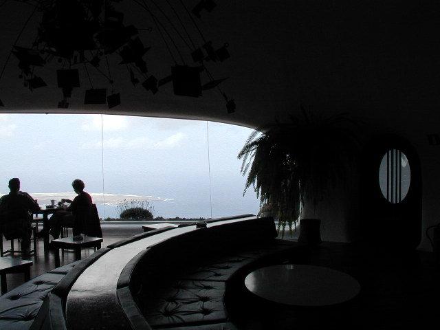 Restaurante con vistas.