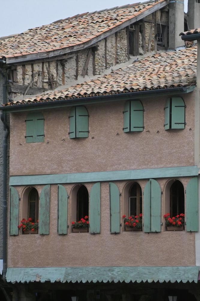 Restauriertes Fachwerkhaus