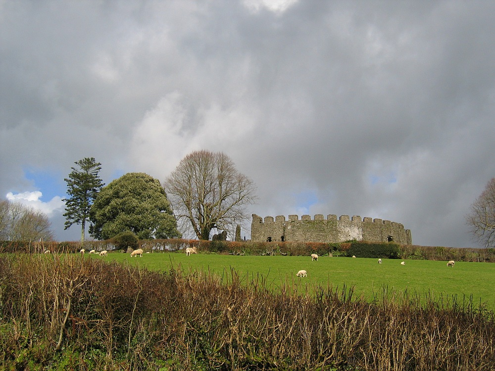 Restormel Castle...