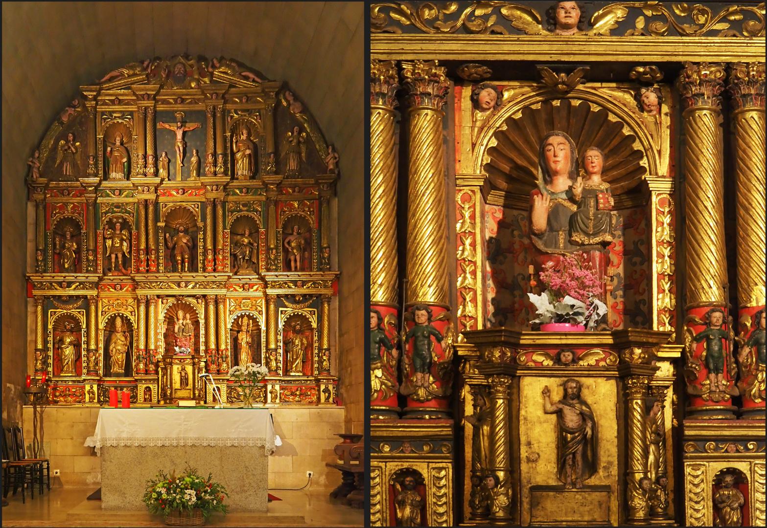 Rétable du choeur de l'Eglise Sant Corneli y Sant Cebria d'Ordino (Andorre)