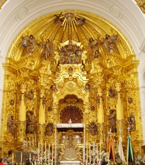 retablo Basilica de nª Sra del Rocio