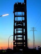 Rethe-Hubbrücke zur blauen Stunde