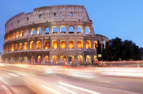 Retour a Rome