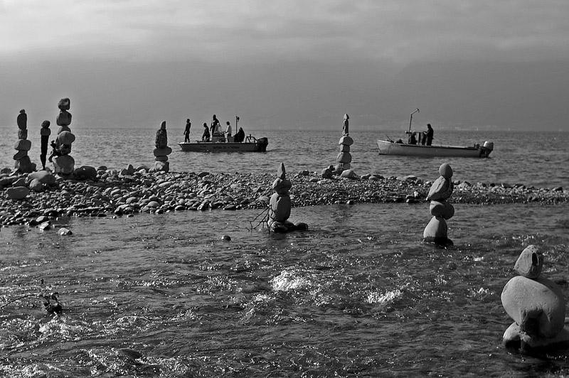 Retour de la pêche sur le Léman