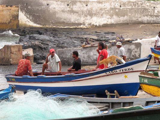 Retour de pêche à Ponto do Sol