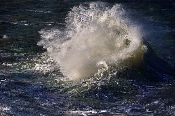 Retour de vagues