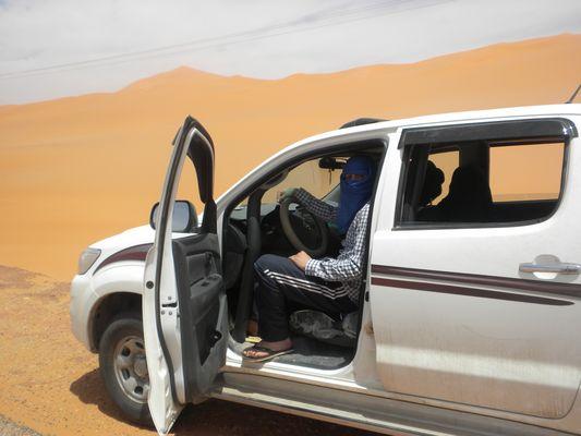 Retour vers Alger ((les dunes de sables de la région de BELGUBOUR)) ((Wilaya de Illizi))