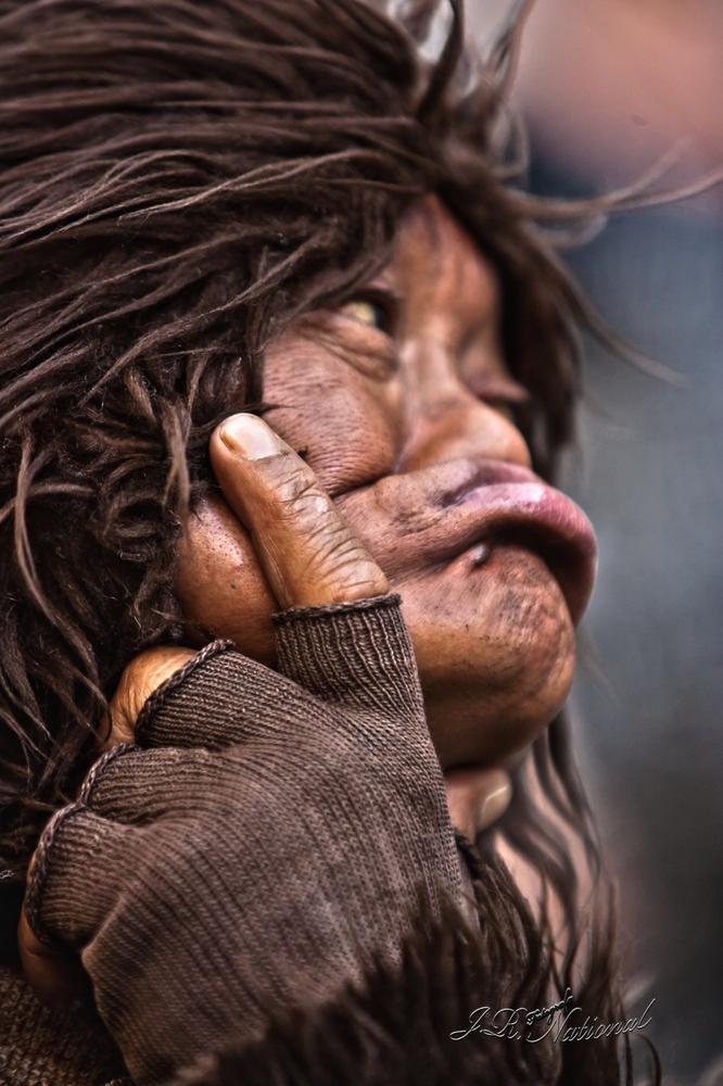 Retrato :Artista callejero