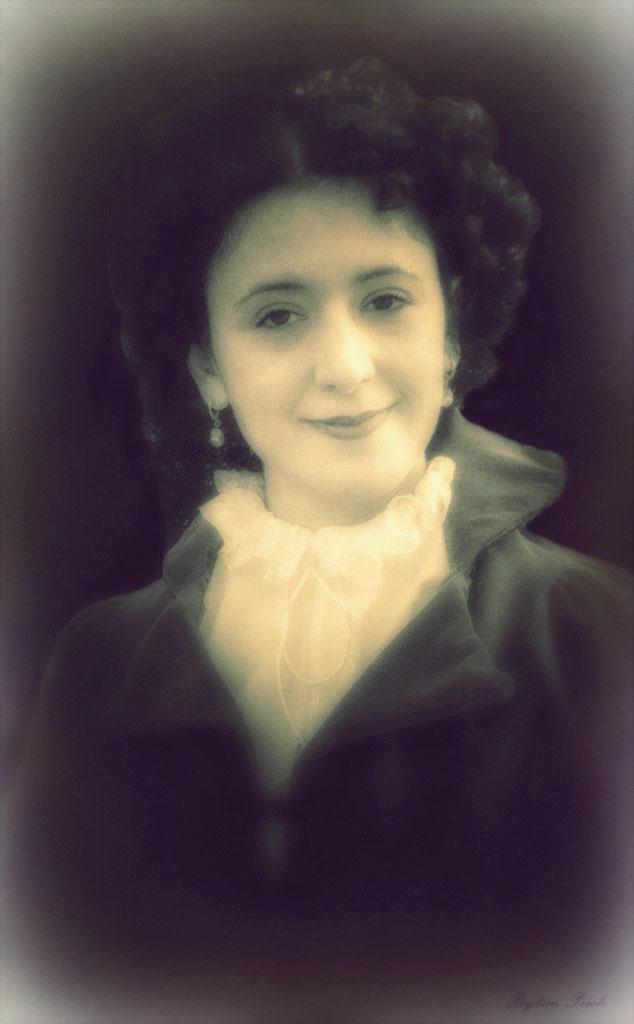 Retrato de una dama.