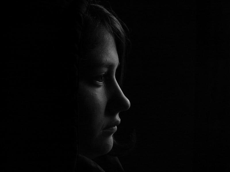 Retrato en la oscuridad
