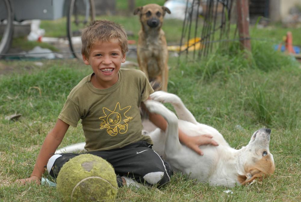 """""""Retratos de la pobreza, sus niños"""""""