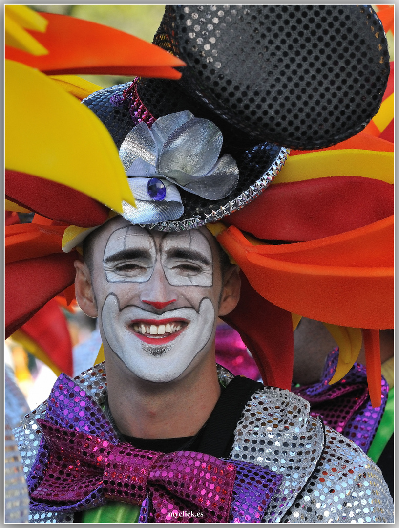 RETRATOS DEL CARNAVAL 2012 -4 -LAS PALMAS DE G C