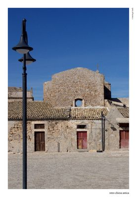 Retro chiesa antica - Marzamemi