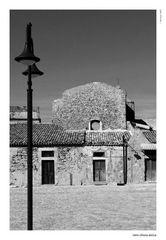 Retro chiesa Antica Marzamemi Bn