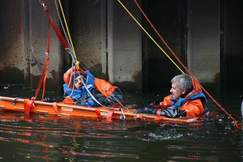 Rettung aus dem Wasser