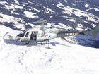 Rettungs-Helikopter Saalbach-Hinterglemm (Österreich)