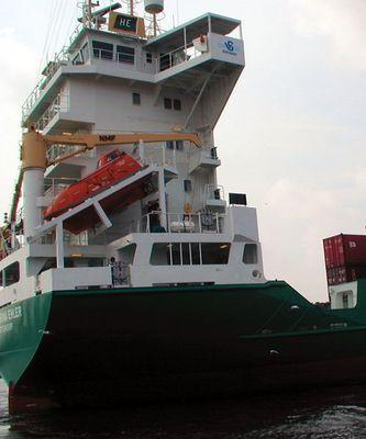 Rettungsboot für den Kapitän - oder was? :-)
