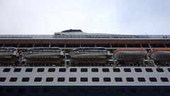 Rettungsboote der Queen Mary 2