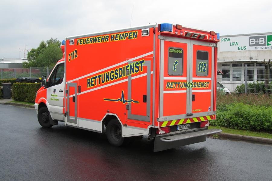 Rettungsdienst der FF Kempen